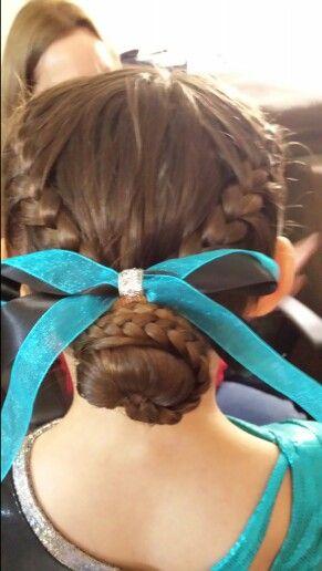 Ty's gymnastics hair