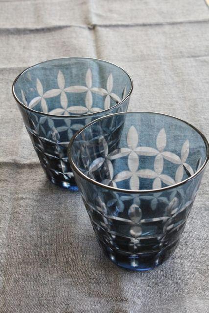 Japanese Kiriko Glass