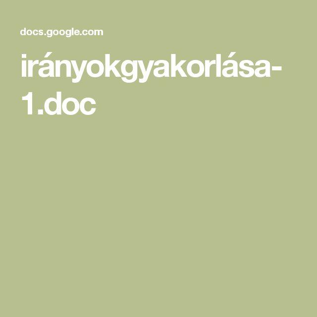 irányokgyakorlása-1.doc
