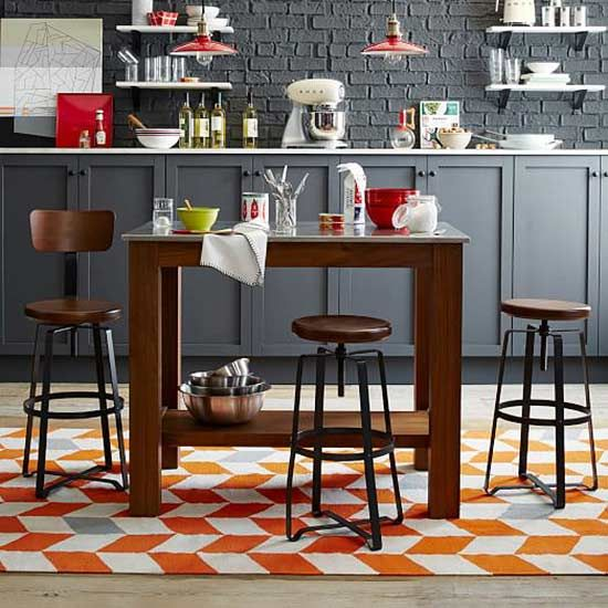 25 best ideas about kitchen island with stools on pinterest kitchen with island diy farm. Black Bedroom Furniture Sets. Home Design Ideas