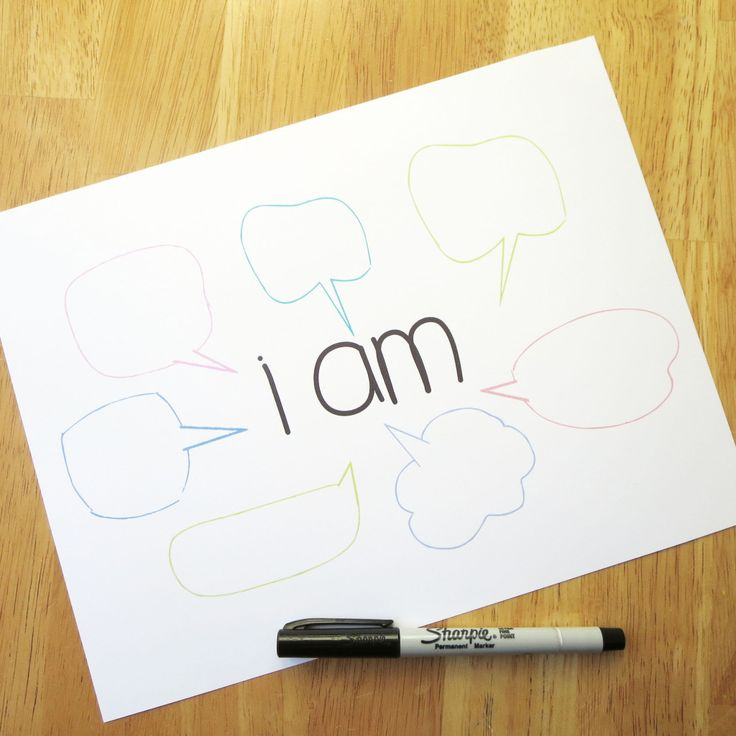 I Am: Beat Your Bullies with Positivity (  a printable too!)