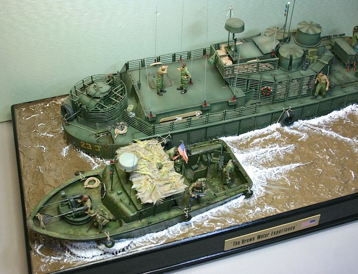 Command and Communications Boat, Vietnam | Model Ship ...
