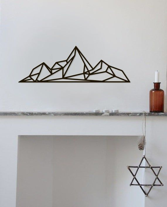 21cm Garden Wall Art Metal Iron Frame Star Shape Metal Planter Craft DIY