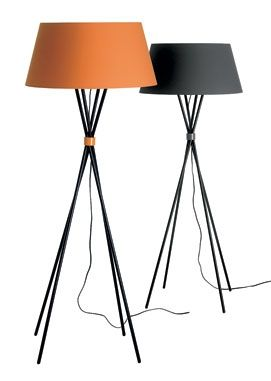 gorgeous floor lamps from BoConcept