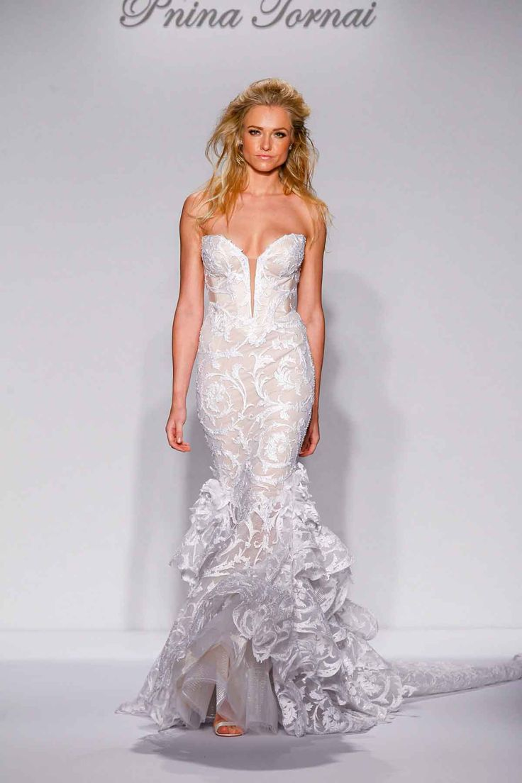 Superb Gowns Inspired by Wind u Water by Pnina Tornai for Kleinfeld