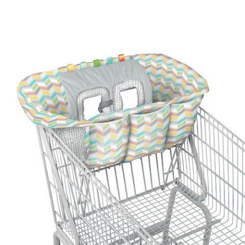 See ya, germs! Shop safely with these shopping cart covers to protect your baby.