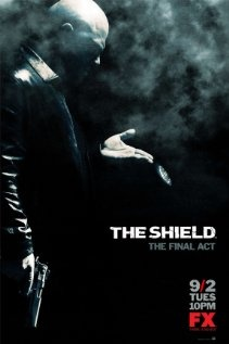 The Shield Poster  More at IMDbPro » The Shield (TV Series 2002–2008) TV_MA  60 min  -  Crime   Drama   Thriller     8/10   Users: (7,759 votes) 328 reviews   Critics: 64 reviews The story of an inner-city Los Angeles police precinct where some of the cops aren't above breaking the rules or working against their associates to both keep the streets safe and their self-interests intact.