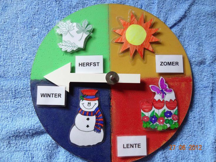 kleutertjes seizoenskalender