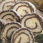 Cukrovi na Vanoce: Keksový salám
