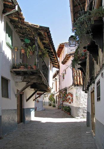 Juderia Hervás,  Cáceres  Spain