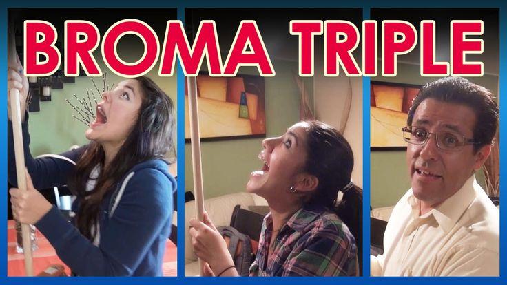 "Broma al triple ""Baño en la sala""      LOS POLINESIOS BROMAS PLATICA POL..."