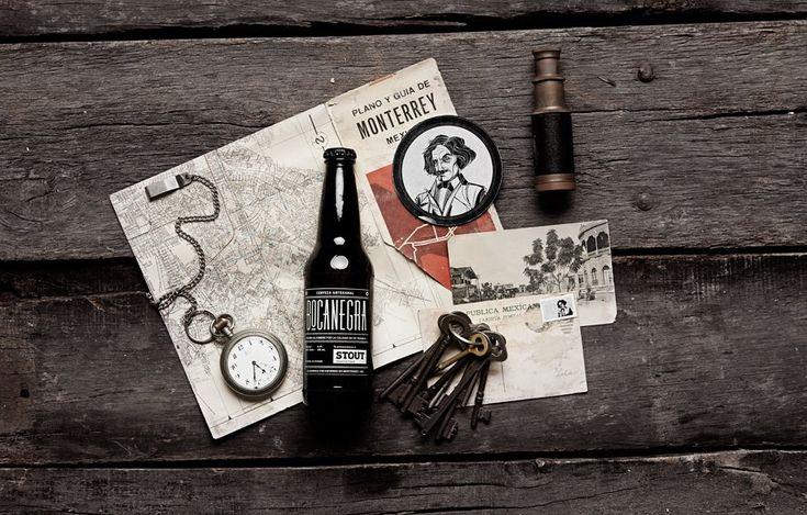 Bocanegra craft beer branded collateral | Designer: Manifiesto Futura - http://mfutura.mx