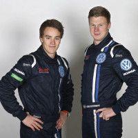 Ole Christian Veiby og Johan Kristoffersen kjører for Volkswagen i nytt rallycrossmesterskap i 2014