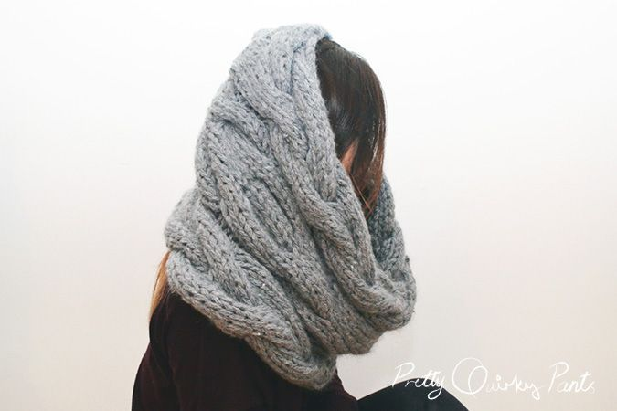 Free Knitting Pattern Infinity Cable Scarf : 148 best images about My DIY from PQP on Pinterest