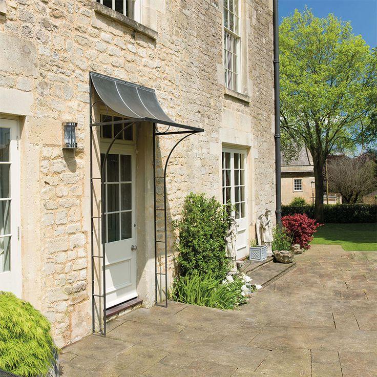 Over Door Porches - Door Canopy Designs - Metal Planters & 9 best Over door canopy images on Pinterest | Front doors Front ...