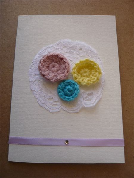 """Greeting Card  """"bouquet"""""""