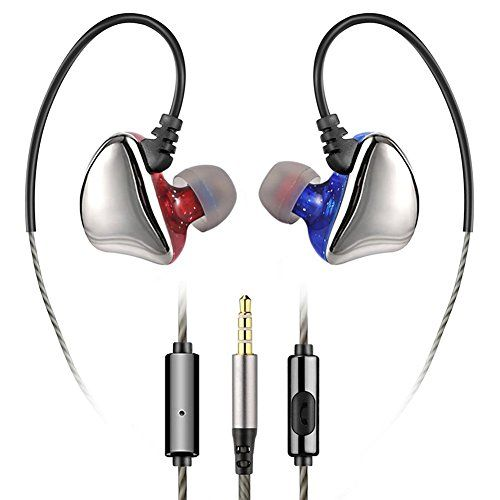 Beslot earphones in ear headphones wired earbuds bass headsets - Red-Blue  https://topcellulardeals.com/product/beslot-earphones-in-ear-headphones-wired-earbuds-bass-headsets/?attribute_pa_color=red-blue  Patented ergonomic earpiece design and certified IPX5 sweat-proof headphones provides long-term wearing comfort. Noise isolating in-ear design with energetic sound and enhanced bass. Headphones for All Apple Devices, Androids Devices, MP3/MP4 Player, Portable Musics Player,