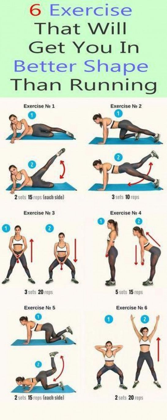 Workouts : 6 exercise that will get better shape #…