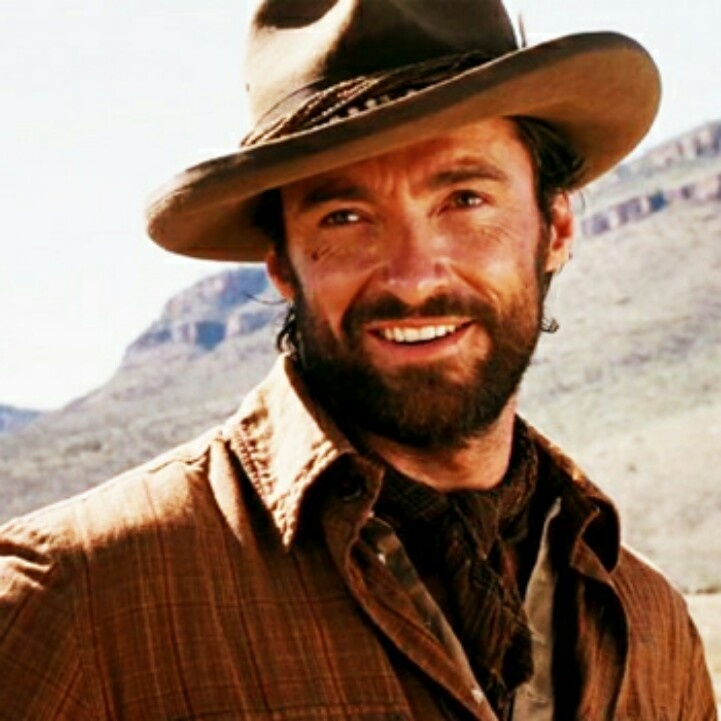 Hugh Jackman ;-)sarcastic face....lol
