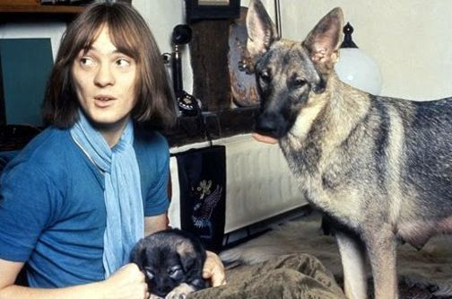 Steve Marriott (& the infamous Seamus)