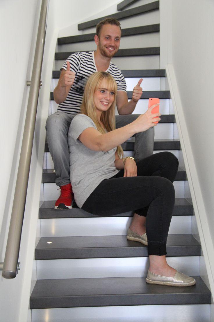 17 beste idee n over traptreden op pinterest trap for Hoeveel traptreden heeft een trap