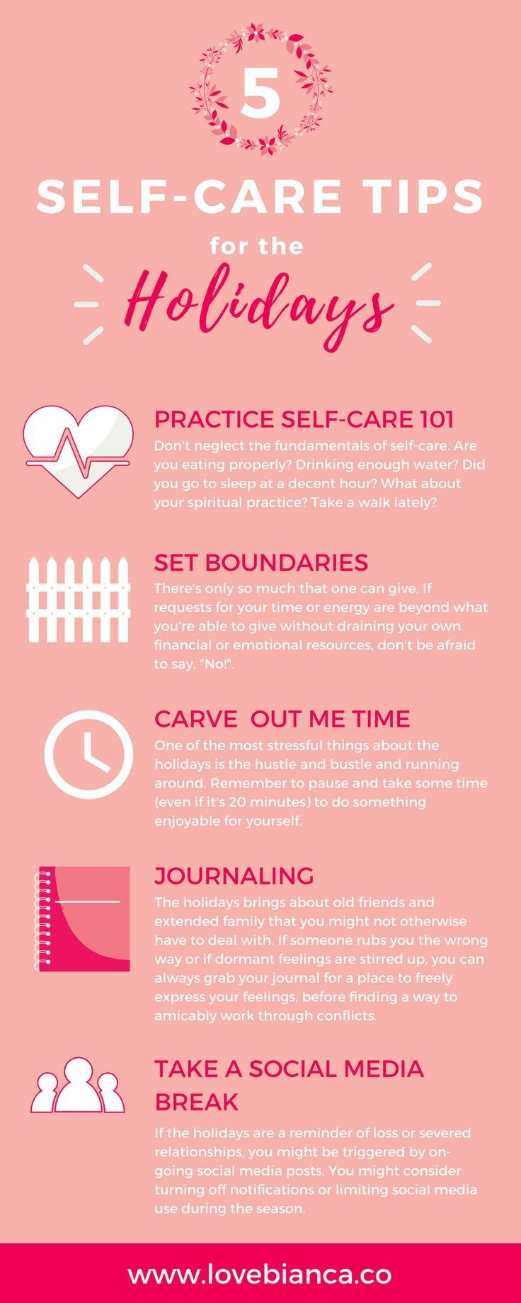 5 Self Care Tips to Practice During the Holidays – Coping with Holiday Stress
