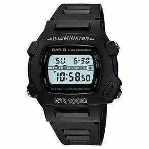 Relógio Masculino Digital Casio W-740-1VS - Preto