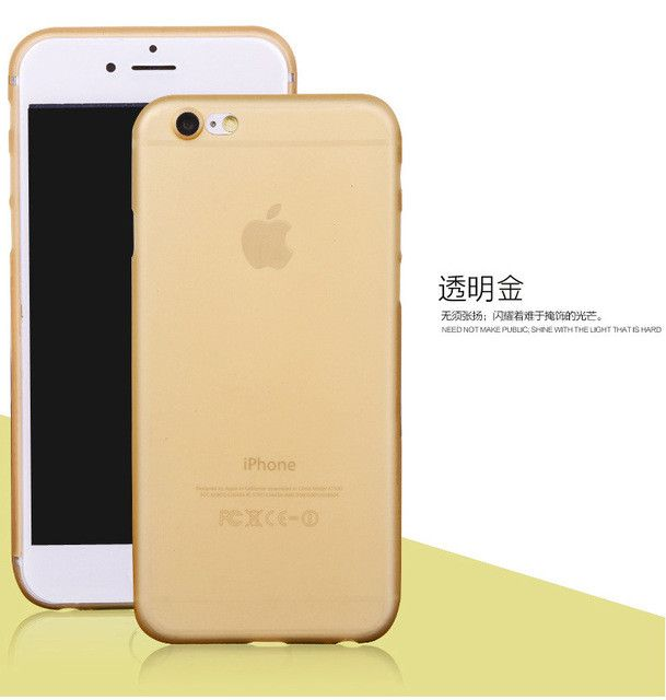 """1pcs For iphone 6 6S 4.7""""inch 0.3mm Ultra Thin Matte Coque Fundas TPU Cover Case For iphone 6 6s Phone Bags Free Shipping"""