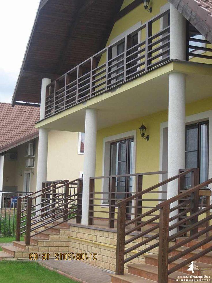 Ограждения крыльца и балкона..