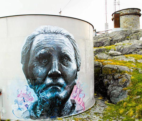 Utsirart murals | PichiAvo – Art, design, graffiti