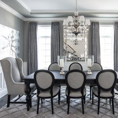 Best 25+ Black dining room sets ideas on Pinterest   Black dining ...