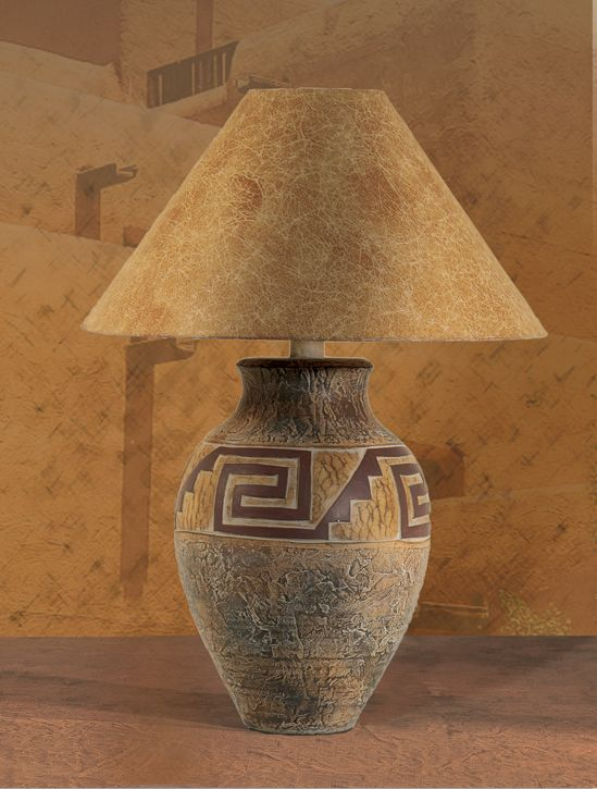 164 best lamp bases images on pinterest ceramic pottery ceramic southwest table lamp ach 6190 mozeypictures