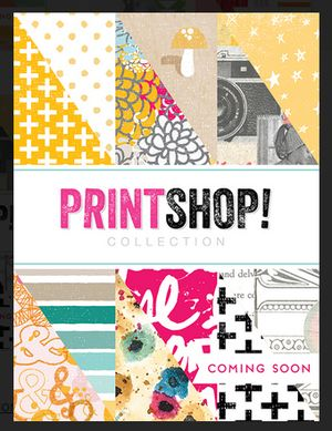 Printshop, Studio Calico's newest collection. Available mid October!