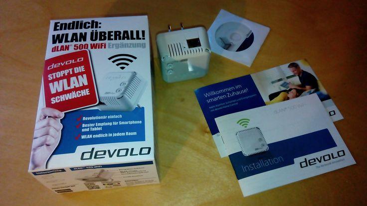 """Werbung dLAN® 500 WiFi Hersteller: devolo.de    Erfahrungsbericht von Wichmann-Reviews.de zum dLAN® 500 WiFi-Adapter  """"WLAN in jedem Raum"""", verspricht die Verpackung und """"volle WLAN-Abdeckung bis in den letzten Winkel des Hauses"""". Hört sich gut an. Der Test zeugt von meinen Erfahrungen.   #Bewertung #devolo #dLAN[R] #Funknetz #Hardwaretest #rezension #WLAN"""