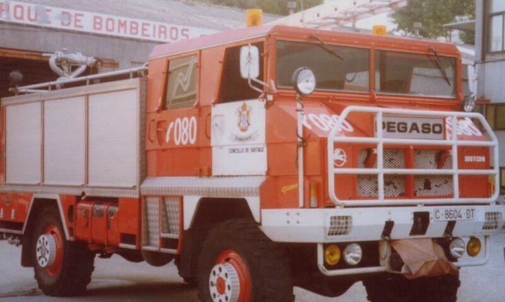 Pegaso Fire truck.