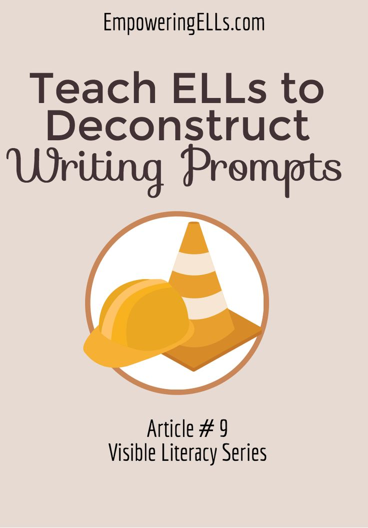 Teaching Argument Writing to ELLs