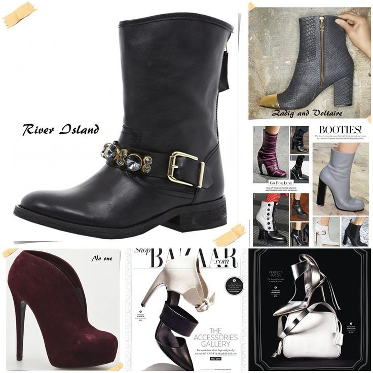 Тенденции модной обуви осень-зима 2013-2014
