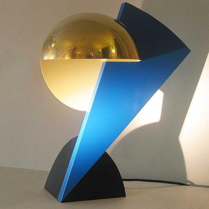 "Serge Manzon ""Eclair"" Lamp for Pierre Cardin (circa 1978)"