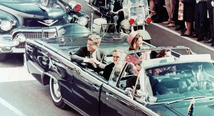1963 - Asesinato de John F. Kennedy.