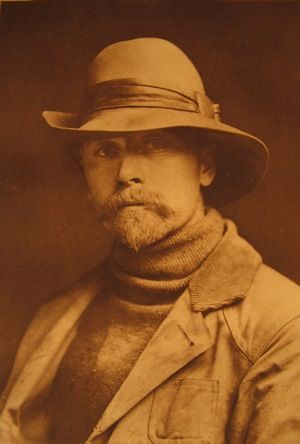 Edward S. Curtis, self portrait