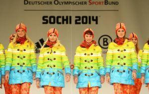 http://wp.me/p44N8G-3p Sotchi 2014, un défilé haut en couleurs. Les tenues officielles des Jeux Olympiques. Allemagne, Germany, Sochi 2014, Olympics