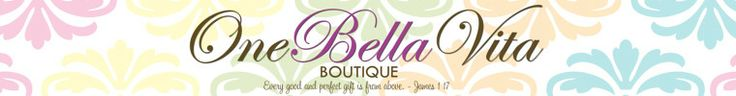 One Bella Vita (Etsy shop) - really great monogrammed items