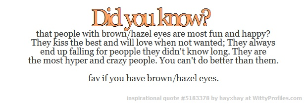 Brown/hazel eyes | Neat Facts | Pinterest | Cas, Eyes and ...