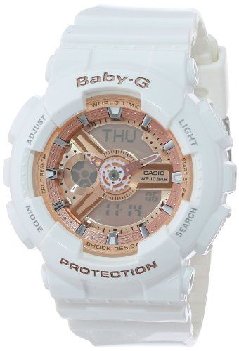 Casio Women's BA-110-7A1CR Baby-G Pink Analog-Digital Display and White Resin Strap Watch Casio,http://www.amazon.com/dp/B00ENCCNLA/ref=cm_sw_r_pi_dp_rwrjtb02SAAJNGNG
