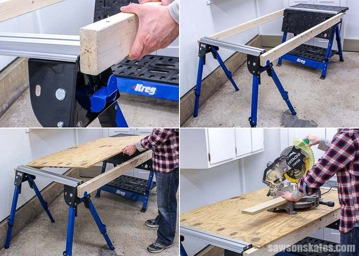 Astounding Kreg Track Horse Is The Perfect Sawhorse For A Small Uwap Interior Chair Design Uwaporg