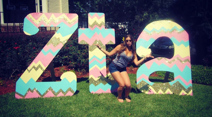Beta Gamma at Florida State! My bid day letters