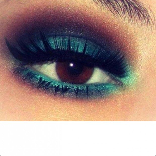 20 Gorgeous Makeup Ideas for Brown Eyes I don't have brown eyes, but some of these are great for blue, too.