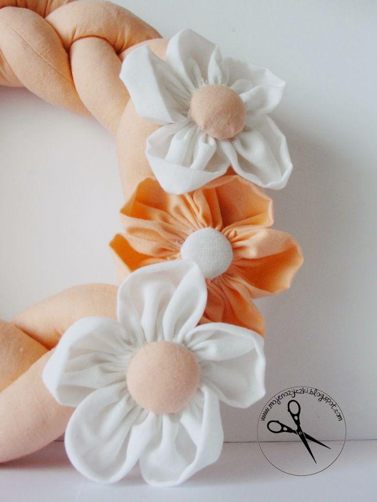 Wiosenny wianek Wiosenny wianek sew spring wreath