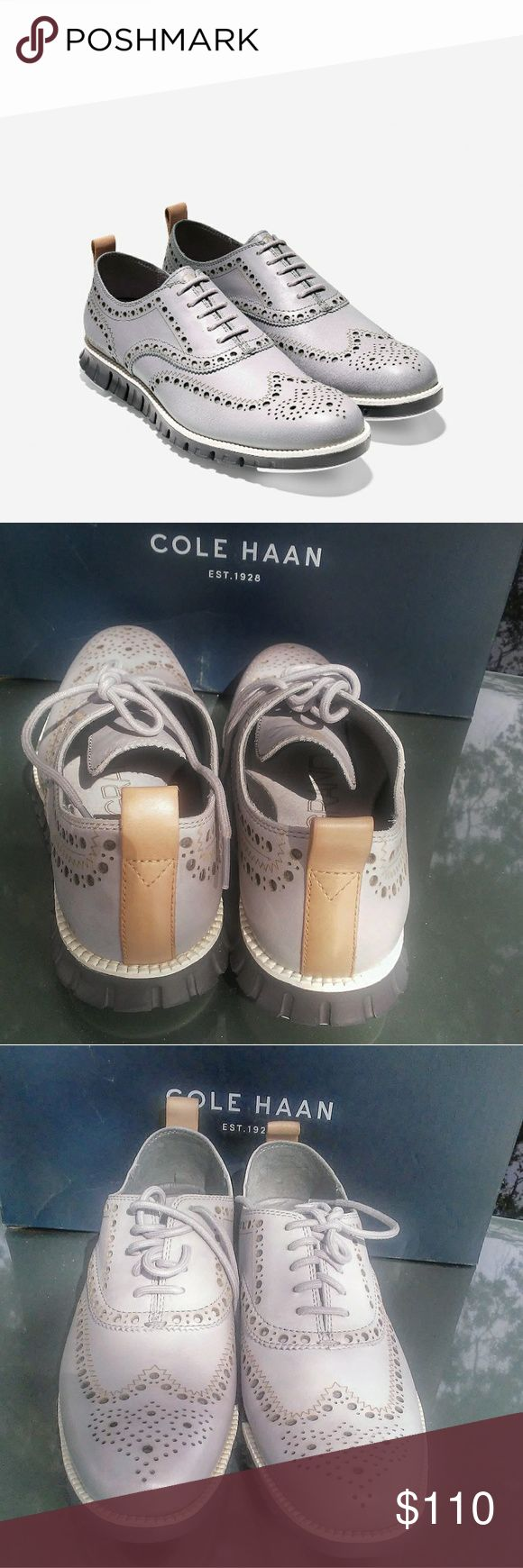 """Cole Haan Zerogrand Thirty 7men/8.5 women Hey Mr. silver fox,Do you have a love for turtle necks? Do you have a special rocking chair on the back porch with a peace and the finest grains of tobacco? Do you haul out the zoot suit from time to time, drink a scotch and do the twist in the mirror. Are """"You da man"""" at the Ol shuffleboard games? Well, this shoe is for you. A throwback with a modern day twist. Hop step and strut with pride with the zero grand thirty  New in box Cole Haan Shoes…"""