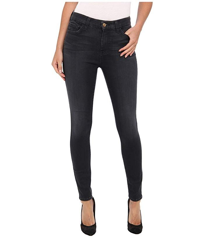 7 For All Mankind Womens High Waist Skinny with Contour Waistband Jean